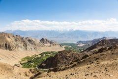 Leh valley in Ladakh, India Royalty Free Stock Photos