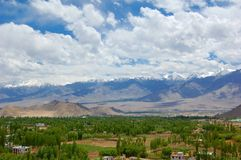 Leh View Royalty Free Stock Photography