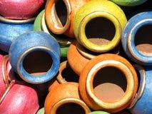 Lehm-Farben lizenzfreie stockfotografie