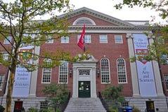 Lehman Hall in Harvard University, Boston, USA stock photo