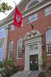 Lehman Salão na Universidade de Harvard, Boston, EUA Imagem de Stock
