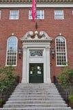 Lehman Salão na Universidade de Harvard, Boston, EUA Fotos de Stock Royalty Free