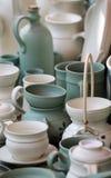Lehmtonwarenkeramik Stockfotos