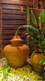 Lehmwasserglas Lizenzfreie Stockbilder