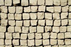 Lehmziegelsteine Stockfoto