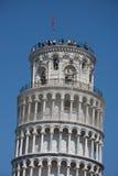 Lehnender Kontrollturm von Pisa Lizenzfreies Stockbild