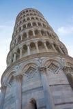 Lehnender Kontrollturm von Pisa, Italien Lizenzfreies Stockbild