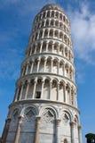 Lehnender Kontrollturm von Pisa, Italien Lizenzfreies Stockfoto