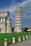 Lehnender Kontrollturm von Pisa, Toskana, Italien Stockfotografie