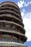 Lehnender Kontrollturm von Teluk Intan Lizenzfreie Stockfotos