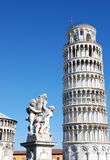 Lehnender Pisa-Kontrollturm, Italien Stockbild