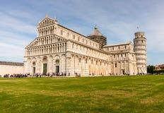 Lehnender Turm in Pisa Italien Lizenzfreies Stockfoto