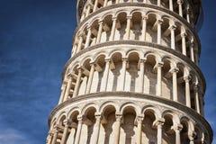 Lehnender Turm von Pisa Stockbild