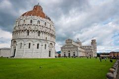 Lehnender Turm von Pisa Stockfoto