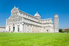 Lehnender Turm von Pisa, Italien stockbild