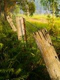 Lehnender Zaun von heartly Stockbilder