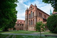 Lehnin abbotskloster, Brandenburg, Tyskland Fotografering för Bildbyråer