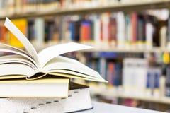 Lehrbücher und Ausbildung Stockbild