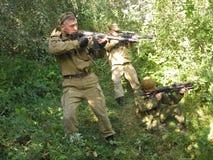 Lehren von speziellen Truppen lizenzfreies stockfoto