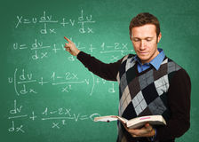 Lehrer bei der Arbeit Stockfotografie