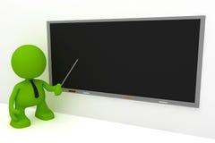 Lehrer an der Tafel Lizenzfreie Stockfotos