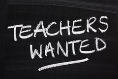 Lehrer gewünscht lizenzfreie stockfotos
