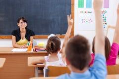 Lehrer und ihre Kursteilnehmer Lizenzfreies Stockfoto