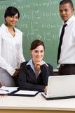 Lehrerteam Stockfoto