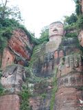 lehsan buddha i Chengdu Kina arkivfoton