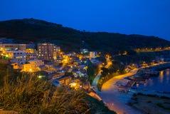 Lehua and Zhongliu Village in Dongyin, Matsu Royalty Free Stock Photography