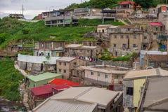 Lehua and Zhongliu Village in Dongyin, Matsu Royalty Free Stock Images