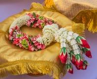 Lei των λουλουδιών για τη λατρεία Στοκ Φωτογραφία