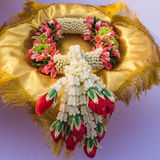 Lei των λουλουδιών για τη λατρεία Στοκ Εικόνες