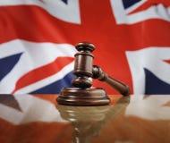 Lei de Reino Unido Foto de Stock Royalty Free
