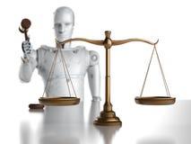 Lei do Cyber ou conceito da lei do Internet fotografia de stock
