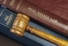 Lei dos bens imobiliários Imagens de Stock