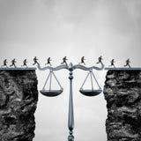 Lei e advogado Solution Imagens de Stock Royalty Free