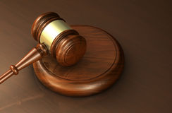 Lei e justiça Symbol do advogado Fotos de Stock Royalty Free