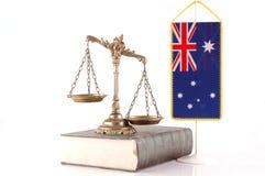 Lei e ordem australianas Imagens de Stock Royalty Free