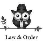 Lei e ordem EUA Foto de Stock