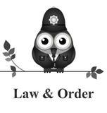 Lei e ordem Reino Unido Imagem de Stock