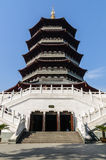 Lei feng Tower architecture scenery,in Hangzhou, China Royalty Free Stock Image