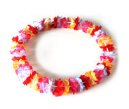 Lei flowers Stock Image