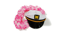 Lei and Nautical Cap Stock Images