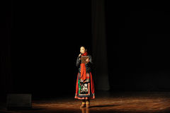 Lei-professore di Li del dipartimento dell'università di Nan-Chang di ballo Fotografie Stock Libere da Diritti