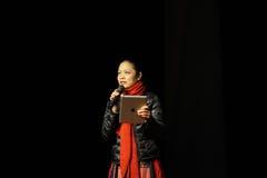 Lei-professore di Li del dipartimento dell'università di Nan-Chang di ballo Fotografia Stock Libera da Diritti