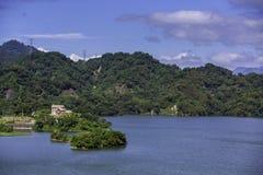 Lei Yu Tan Reservoir, Miaoli, Taiwan Stock Afbeelding
