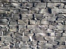 Leibakstenen muur Stock Fotografie