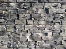 Leibakstenen muur Stock Afbeelding