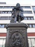 Leibniz Denkmal Leipzig Imagens de Stock Royalty Free